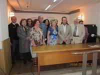 Acto literario celebrado en Melilla con motivo del Día del Libro