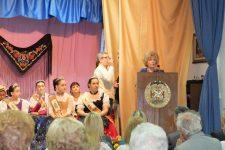 Proclamación de las Reinas de la Casa Regional de Murcia y Albacete en Valencia