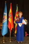 Carmen Carrasco homenajeada por la ciudad de Melilla