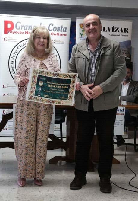 Premio Internacional de las Letras Segura de Haro modalidad biográfica